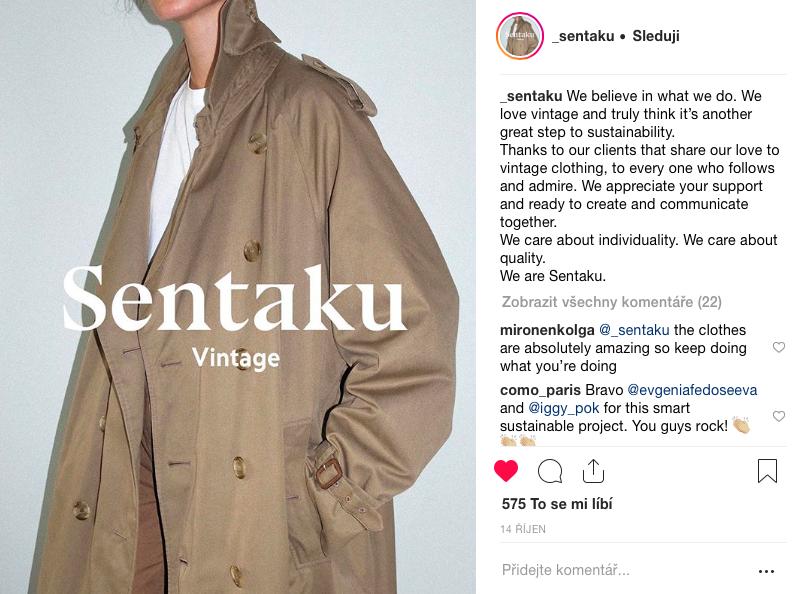 SENTAKU – japonské dědictví slow fashion