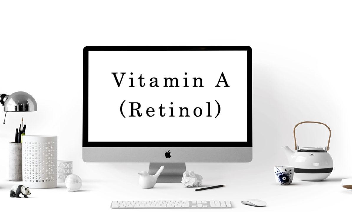 Vše o Retinolu (Vitaminu A) a jak si vybrat ten správný