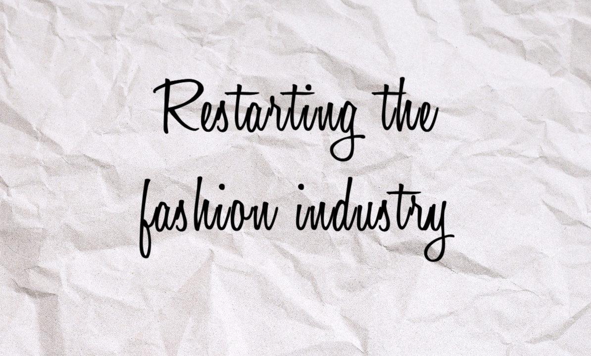 Přehodnocení módního průmyslu