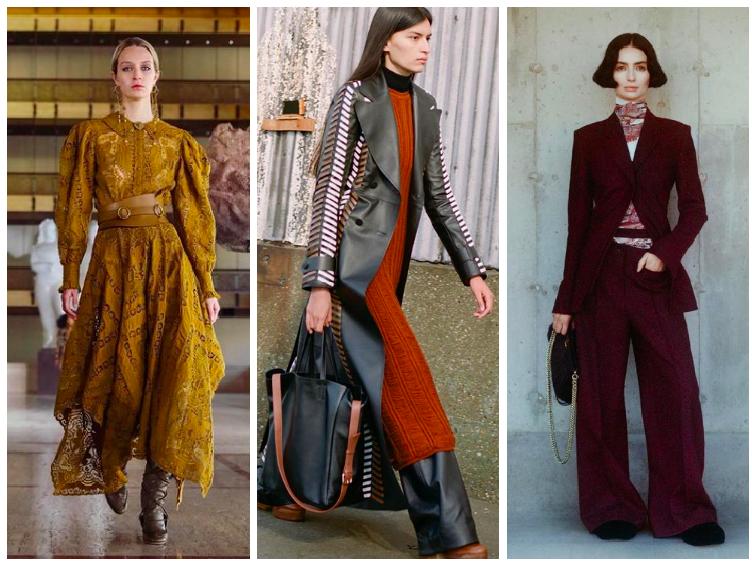 NEW YORK fashion week 2021 podzim-zima